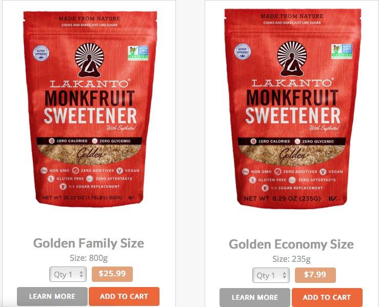 Alison's Keto Sweetener